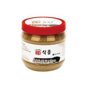 [담은식품/장류] 검정쥐눈이콩 분말 500g