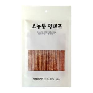 오동통명태포70g(무첨가) 친환경제품