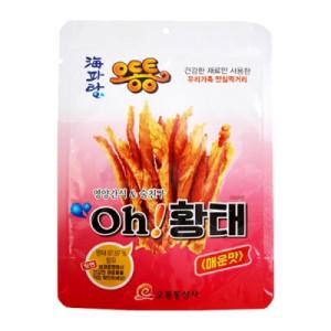 [오동통상사] oh!황태(매운맛) 20g x 2(무첨가) 친환경제품