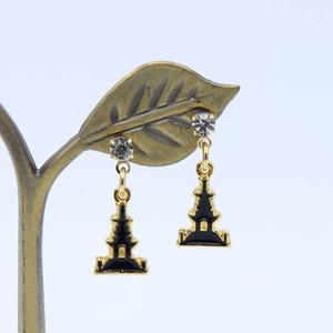 [큐신라] 신라문화재 귀걸이-다보탑