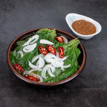 [장다미] 콩잎물김치(2kg) + 표고강된장 200g 세트